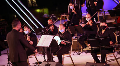 Cairo Opera House reopens with open-air concert following four-month suspension