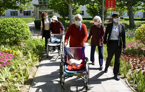 Beijing reports no COVID-19 infections in all nursing homes