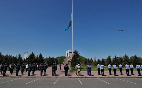 Kazakhstan observes day of mourning for COVID-19 victims