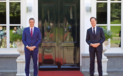 Dutch PM meets with Spanish counterpart in the Netherlands