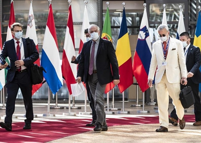Meeting of EU Foreign Affairs Council held in Brussels