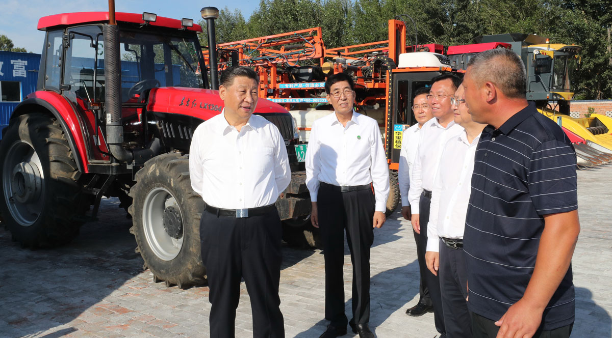 Xi encourages development of farmers' cooperatives suited to local conditions