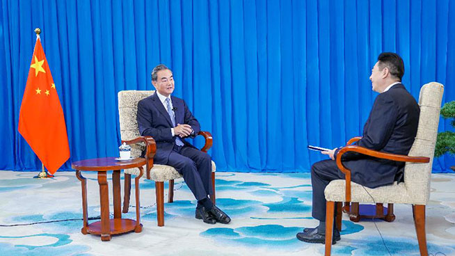 """Wang Yi: Starting """"diplomatic war"""" only exposes U.S. lack of confidence"""