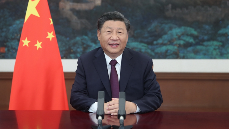 Xi Focus: Xi stresses promoting prosperity of service trade, early recovery of global economy