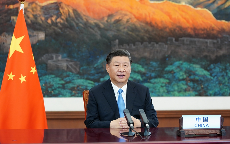Xinhua Headlines-Xi Focus: Xi charts course for world to meet challenges amid COVID-19