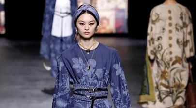 Dior creations presented at Paris fashion show