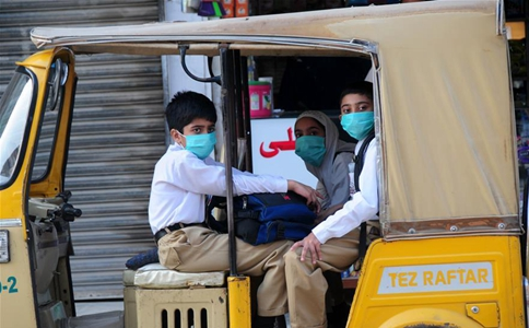 Primary schools reopens in Pakistan