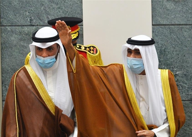 Sheikh Nawaf Al-Ahmad Al-Jaber Al-Sabah takes oath as Kuwait's new emir