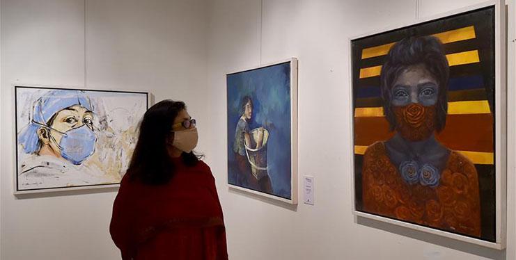 COVID-19 awareness exhibition held in Dhaka, Bangladesh
