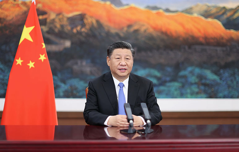Xi Jinping delivers keynote speech via video at CIIE opening ceremony