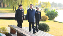 Xi Focus: Xi stresses applying new development philosophy, fostering new development pattern