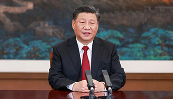 Xi delivers keynote speech at APEC CEO Dialogues