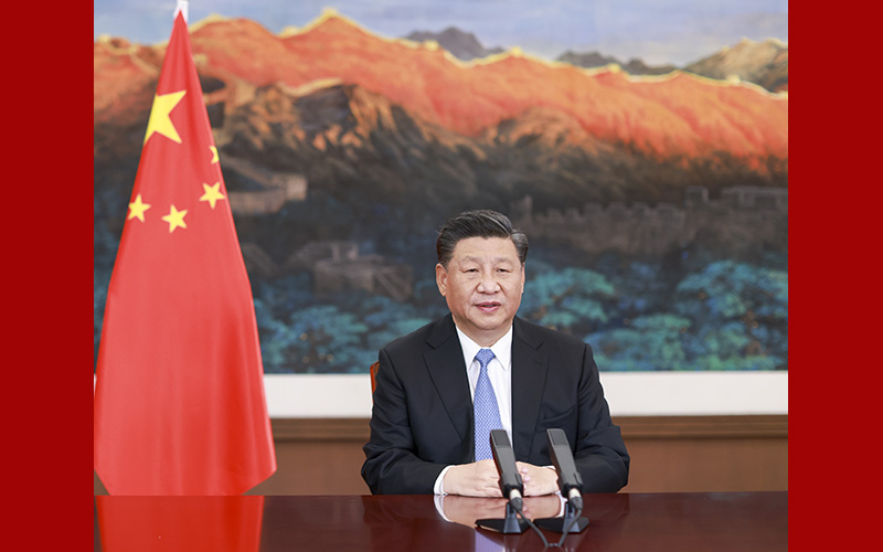 Xi Focus: Xi calls for G20 efforts in safeguarding planet Earth
