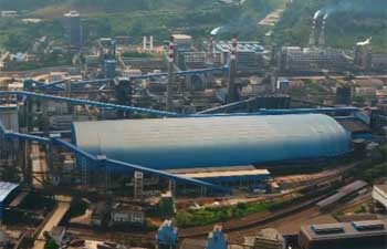 Steel plant transformed to scenic spot in SE China