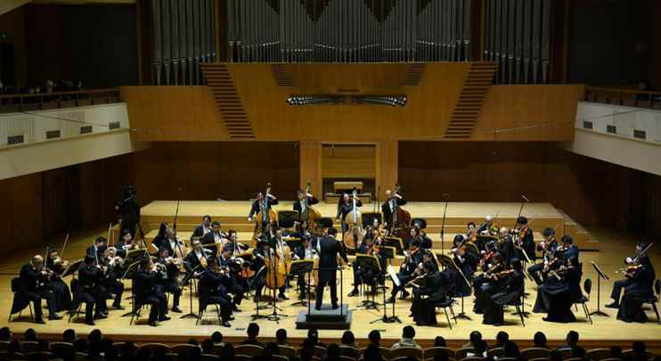 """Concert """"Transfigured Night"""" held in Beijing"""