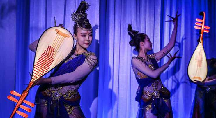 """""""Museum is Reviving"""" event held at Xi'an Tang Hanguang Gate Museum"""