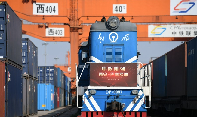 Feature: Riding wave of freight train services, Poland's border town expects closer ties with China