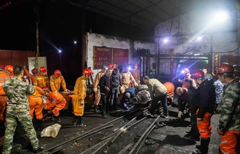 Over 10 trapped in flooded coal mine in central China
