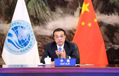 Chinese premier raises four-pronged proposal for SCO's future development