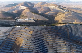 PV power stations aid poverty alleviation in N China