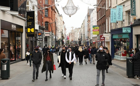 Ireland eases COVID-19 restrictions starting Tuesday