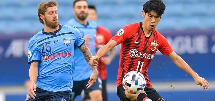 10-man Evergrande draw with Bluewings, SIPG reach top 16 at AFC Champions League