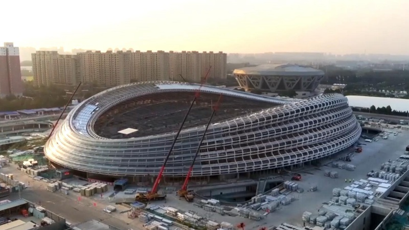 Competition venues completed on schedule for Beijing 2022
