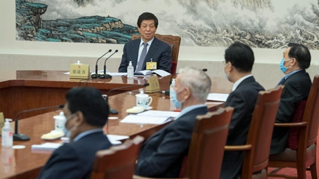 Senior lawmakers hear reports on law deliberations