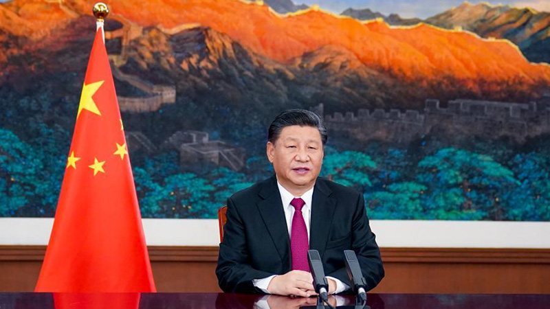 President Xi calls for multilateralism to light up way forward amid pandemic, recession