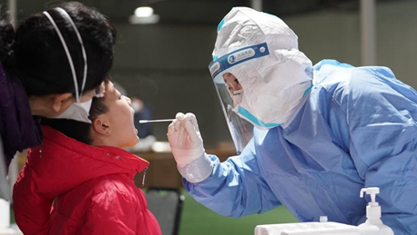 Beijing starts second round of mass nucleic acid testing in Daxing District