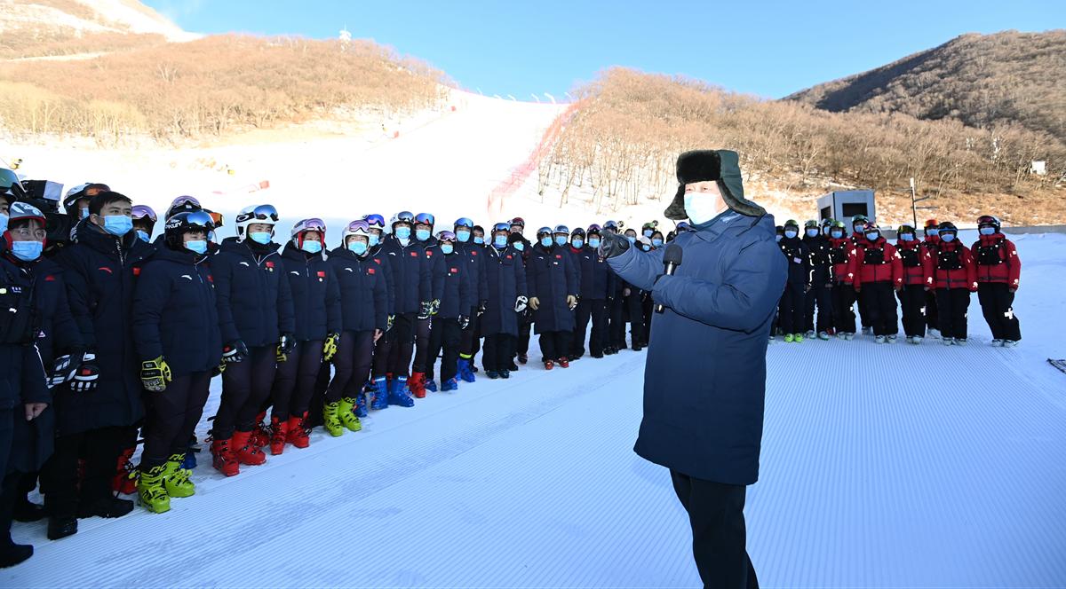 Xi Focus: Xi inspects Beijing 2022 preparatory work