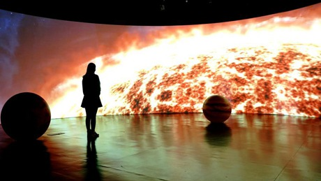 Exhibition of Three-Body held at Shanghai Tower