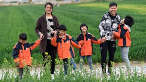 Anhui: Once poor family of quadruplets gets better-off