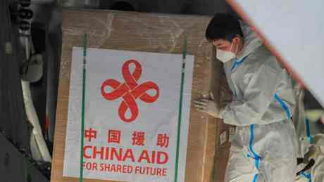 China-donated COVID-19 vaccines arrive in Philippines