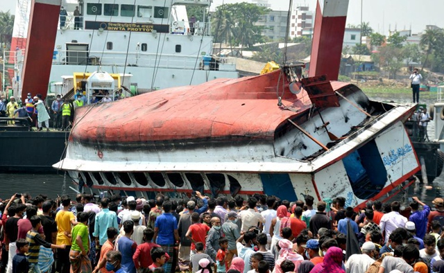 Death toll rises to 26 in Bangladesh ferry sinking