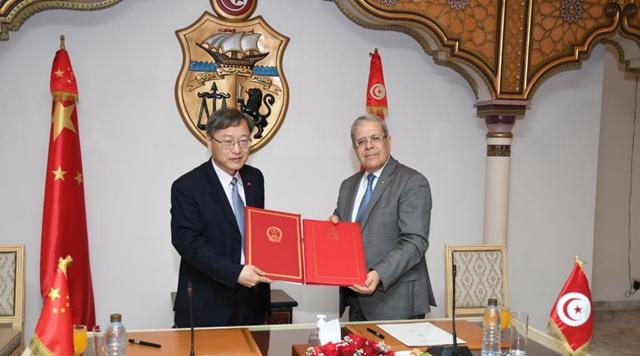 Tunisia, China sign economic, technical cooperation agreement