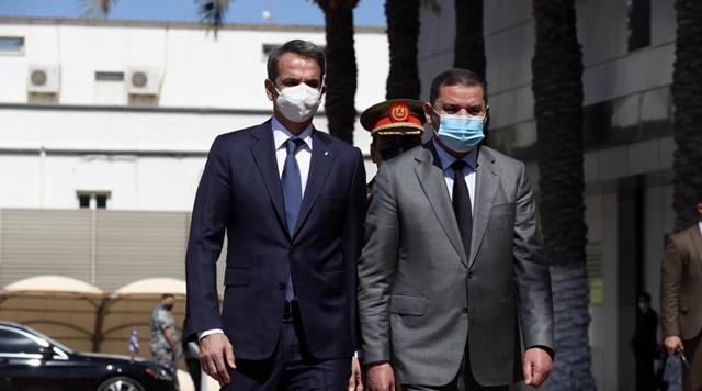 Libya, Greece PMs discuss improving bilateral relations