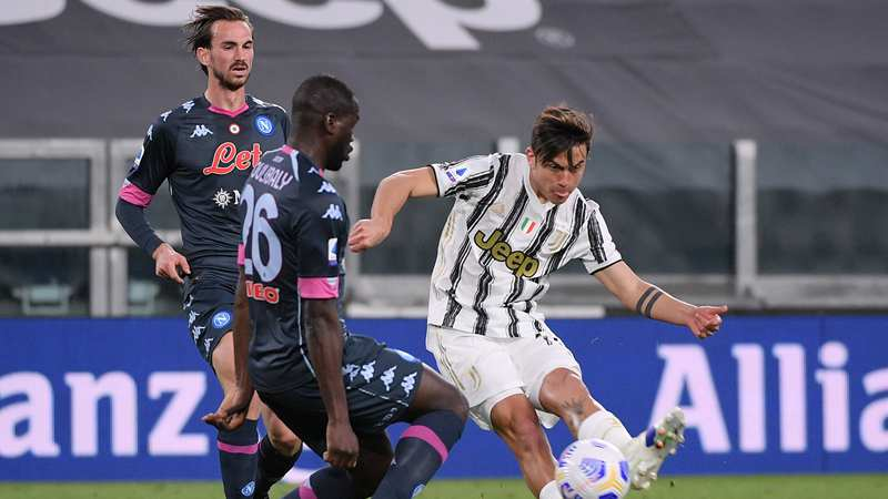 Juve squeeze past Napoli in rescheduled Serie A fixture