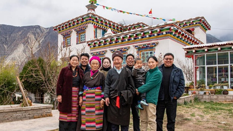 Former serf enjoy life with family after liberation in Tibet