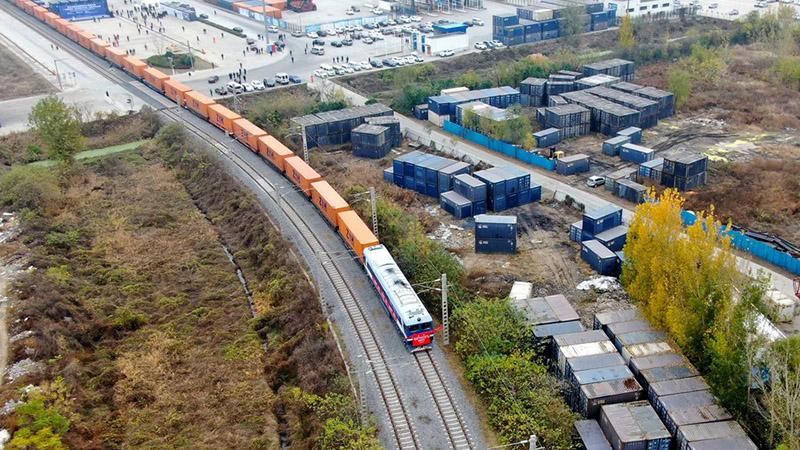 Blockchain powers China-Europe rail trade