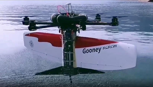 GLOBALink | Chinese researchers develop hybrid aerial underwater vehicle