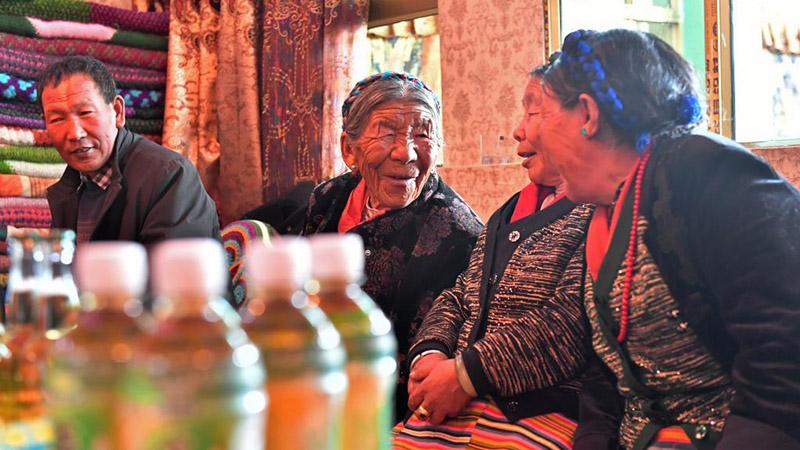 Former serf Penpa Tsamjo's new life in Tibet