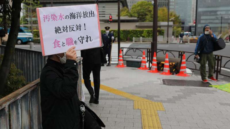 Japan decides to dump Fukushima contaminated water into sea amid domestic, int'l opposition
