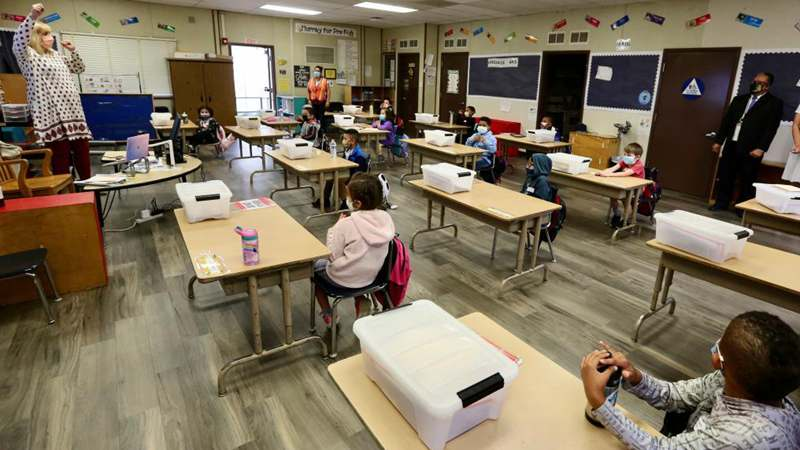 Los Angeles schools reopen for in-person classes with mandatory COVID-19 testing in place