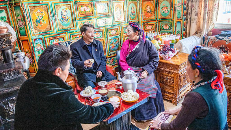 Former serf Losang Namgyal's new life in Tibet