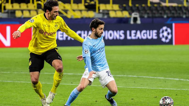 UEFA Champions League: Dortmund vs. Manchester City