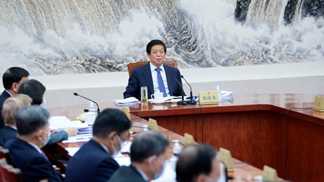 China's top legislature schedules standing committee session