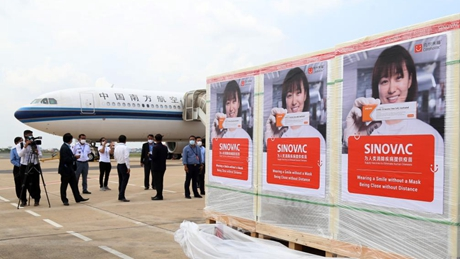 Cambodia receives another batch of China's Sinovac COVID-19 vaccine