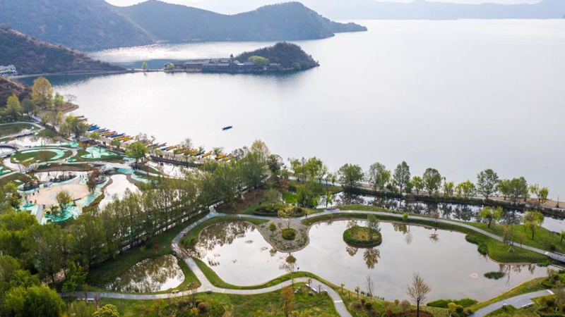 Water quality of Lugu Lake improved in recent years