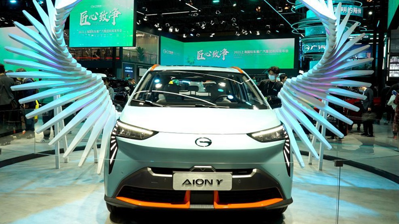Auto Shanghai 2021 kicks off
